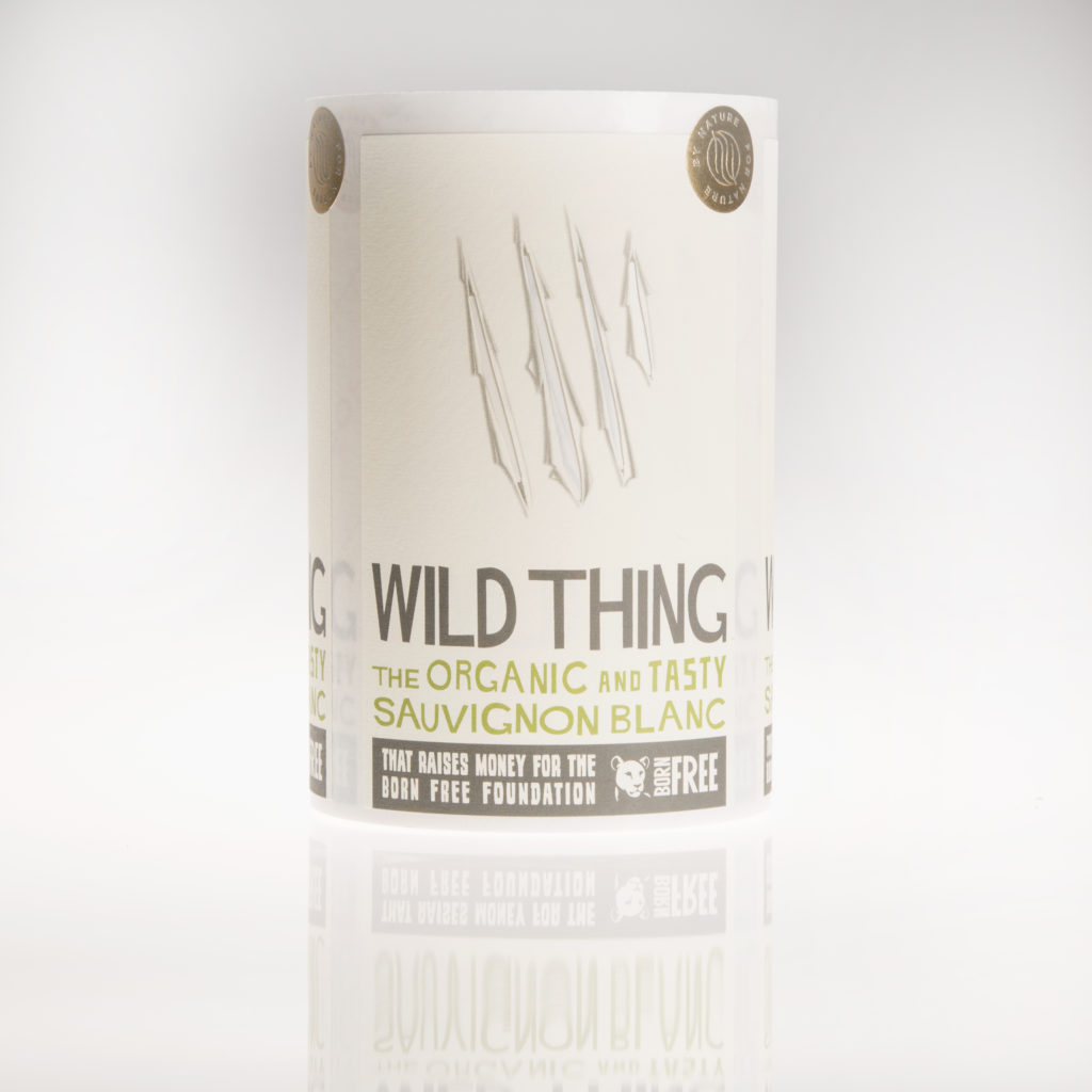 Etiqueta de vino Wid Thing impresa por Etilisa